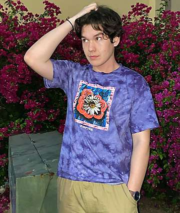 Empyre Dazey Daze Purple Wash T-Shirt