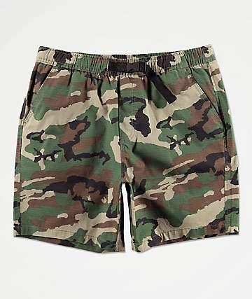 Empyre Dixon shorts de camuflaje de cintura elástica