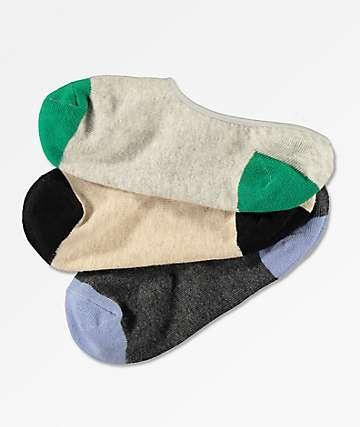 Empyre Fifer 3 Pack No Show Socks