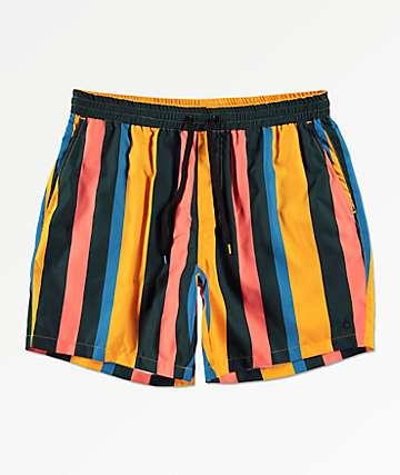 Empyre Floater shorts de baño a rayas