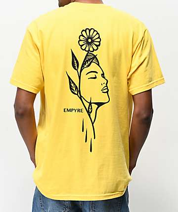 Empyre Flora Revival Yellow T-Shirt