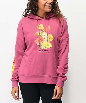 Empyre Fredia Feeling Prickly Pink Hoodie