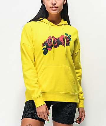 Empyre Fredia Over You Rose sudadera con capucha amarilla