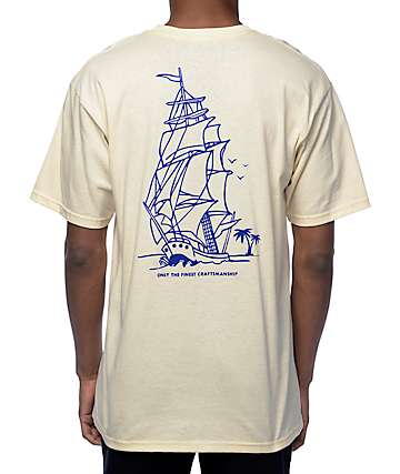 Empyre High Seas camiseta de color arena