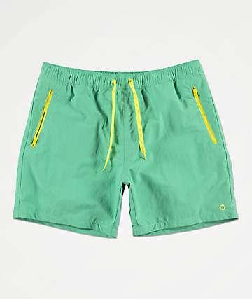 Empyre Inciter shorts de baño verdes