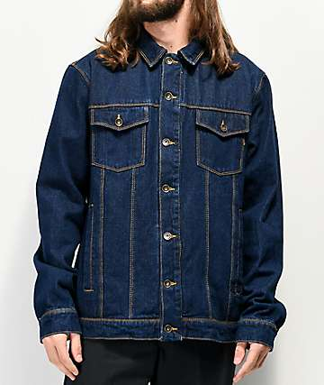 Empyre Jorden Raw Blue Denim Jacket