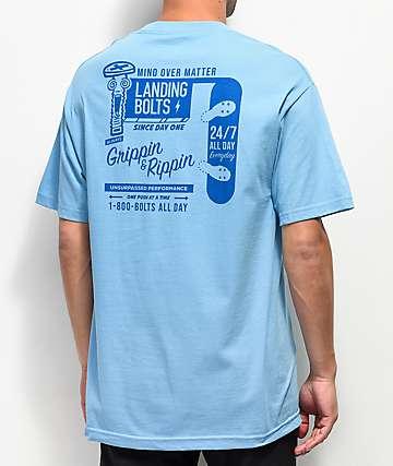 Empyre Landing Bolts Light Blue T-Shirt