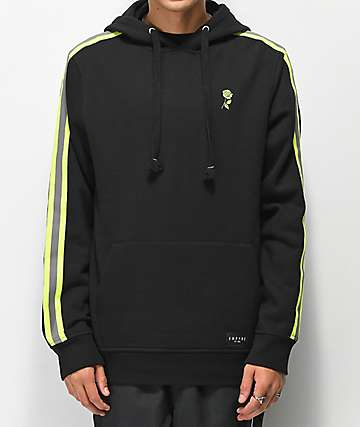 Empyre Le Mans Black & Green Hoodie
