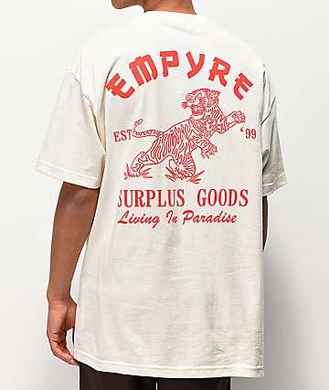 Empyre Living In Paradize camiseta blanquecina