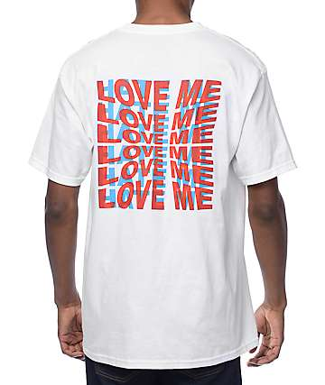 Empyre Love Me-Hate Me White T-shirt
