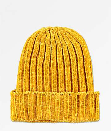 Empyre Lux Golden Yellow Beanie