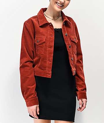Empyre Nava Rust Corduroy Jacket