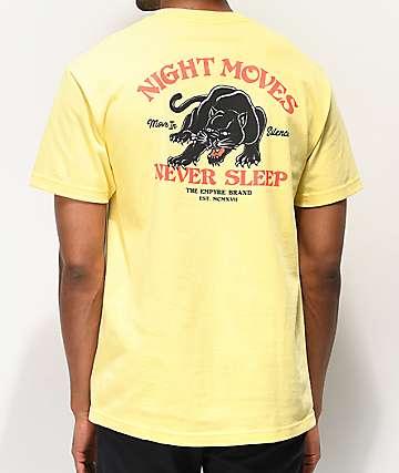 Empyre Night Moves camiseta amarilla