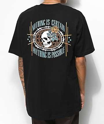 Empyre Nothing Is Certain camiseta negra