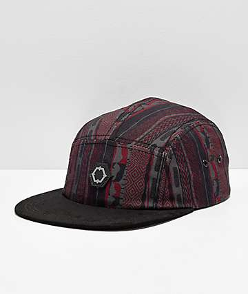 Empyre Notorious Black Retro Strapback Hat