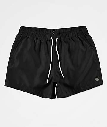 Empyre Ollie Black Board Shorts