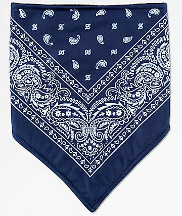 Empyre Paisley Navy & White Facemask