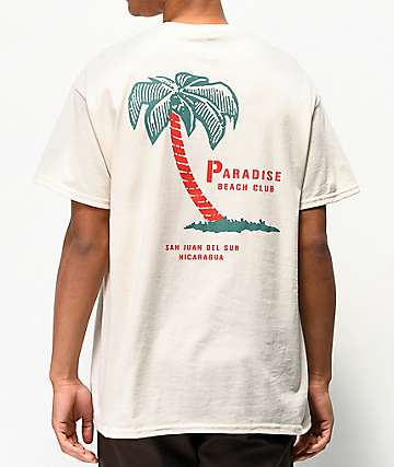 Empyre Paradise Club Natural T-Shirt