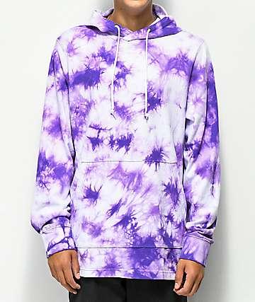 Empyre Phisher Purple Tie Dye Hoodie