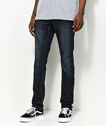 Empyre Recoil Nemo Dark Blue Super Skinny Jeans