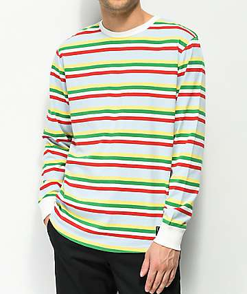 Empyre Recon Striped Light Blue Long Sleeve T-Shirt