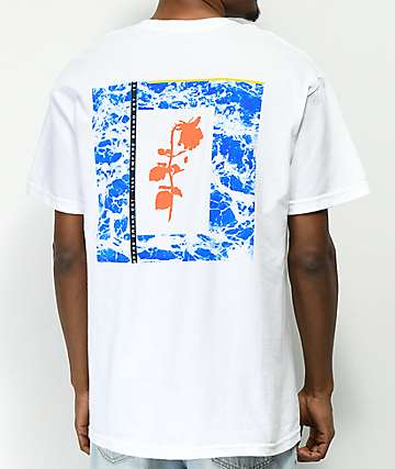 Empyre Rose Mortem White T-Shirt