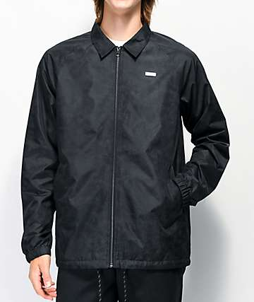 Empyre Shawn Black Coaches Jacket