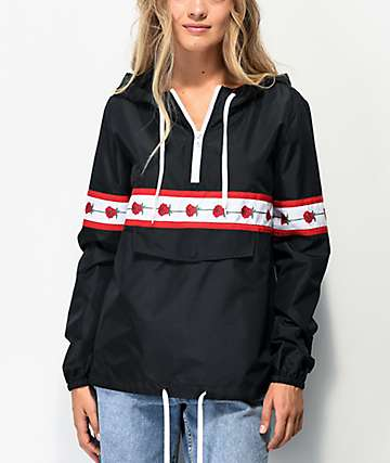 Empyre Shaylyn Rose Black Anorak Jacket