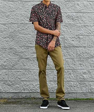Empyre Skeletor Dark Khaki Chino Pants