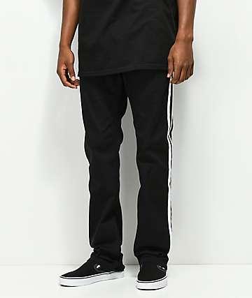 Empyre Sledgehammer pantalones negros con rayas