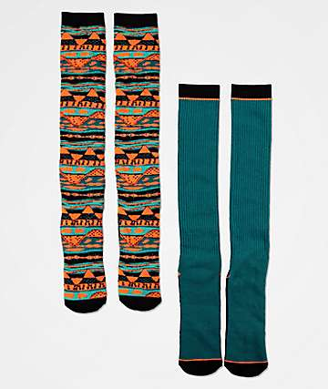 Empyre Snowploblem 2 Pack Snowboard Socks