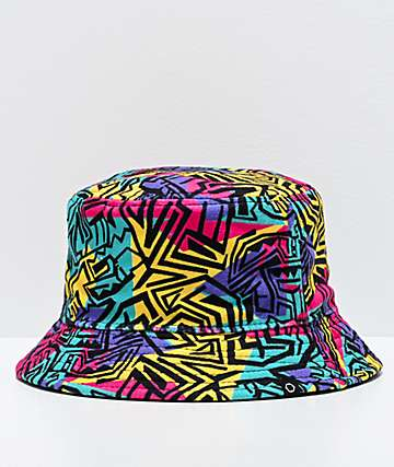 Empyre Swatch Geo Print Bucket Hat