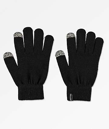 Empyre Techy Tachy Black Gloves