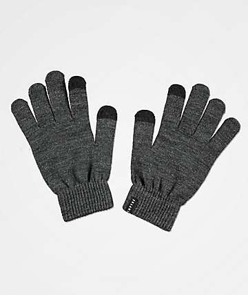 Empyre Techy Tachy Grey Gloves