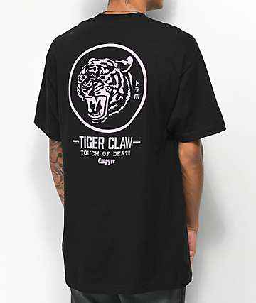 Empyre Tiger Claw Black T-Shirt