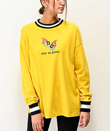 Empyre Velma Games Yellow Long Sleeve T-Shirt