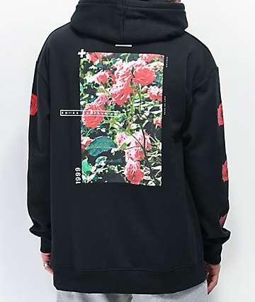 Empyre Vertigo Rose Black Hoodie