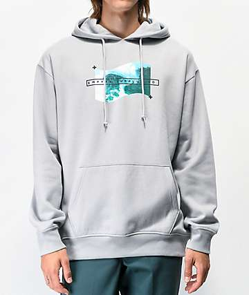 Empyre Wavy Daze Light Grey Hoodie
