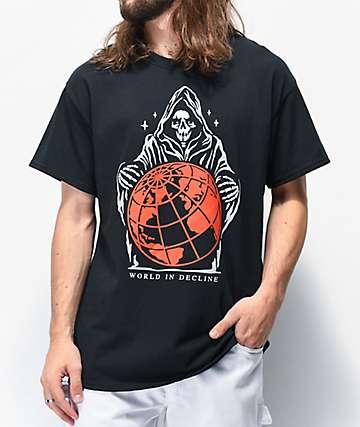 Empyre World In Decline camiseta negra