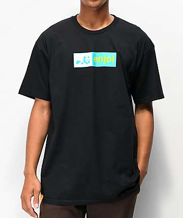 Enjoi Box Logo Black T-Shirt