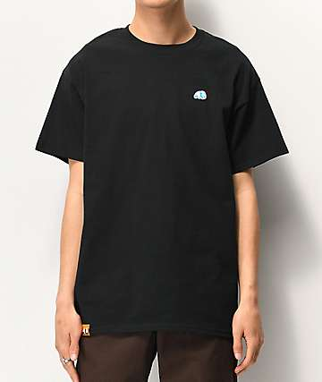 Enjoi Small Panda Patch Black T-Shirt