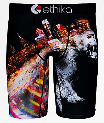 Ethika 12-Monkeys Boxer Briefs