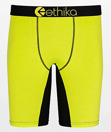 Ethika Blaze Yellow Boxer Briefs