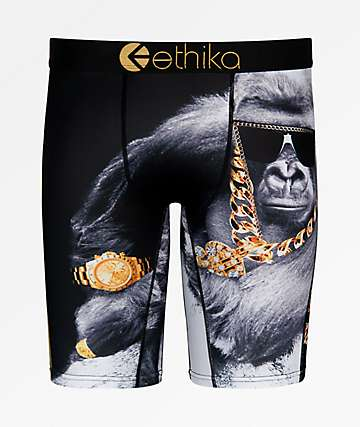 Ethika Boys Floss Gorilla Boxer Briefs
