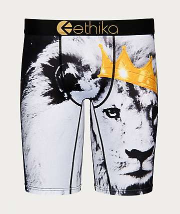 Ethika Boys Lion King Boxer Briefs
