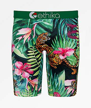 Ethika Boys Tropic Tiger Boxer Briefs