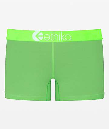 Ethika Green Glow Staple Boyshort Panty