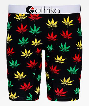 Ethika Happy Leaf Boxer Briefs