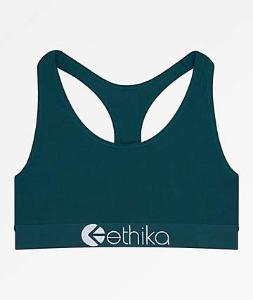 Ethika Mystic Teal Sports Bra