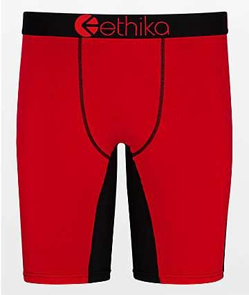 Ethika Patriot Red Boxer Briefs